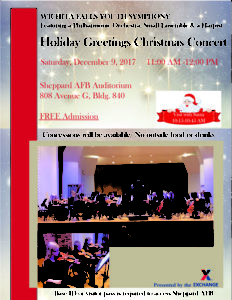 Holiday Greetings Christmas Concert @ Shepphard Auditorium