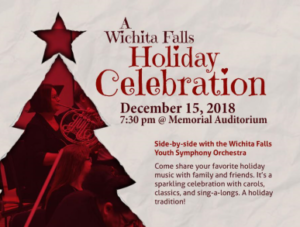 A Wichita Falls Holiday Celebration @ Wichita Falls Memorial Auditorium | Wichita Falls | Texas | United States