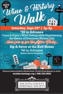 Wine & History Walk @ Kell House Museum | Wichita Falls | Texas | United States