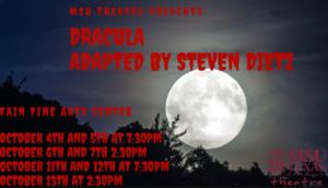 MSU Theatre Presents Dracula Adapted by Steven Dietz @ Fain Fine Arts Center Theatre   Wichita Falls   Texas   United States