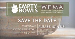 Empty Bowls 2018 @ Wichita Falls Museum of Art | Wichita Falls | Texas | United States