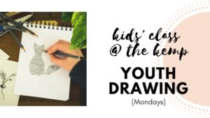 Youth Drawing at the Kemp (ages 9-13) @ The Kemp | Wichita Falls | Texas | United States