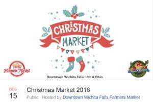 Christmas Market @ Downtown Farmer's Market | Wichita Falls | Texas | United States