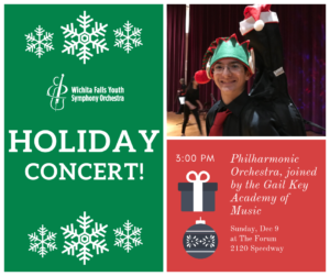 YSO Christmas Concert @ The Forum | Wichita Falls | Texas | United States