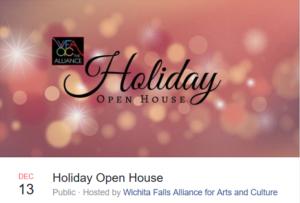 WFAAC Open House @ Wichita Falls Alliance for Arts and Culture | Wichita Falls | Texas | United States