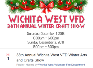 Christmas Arts and Crafts Show (hosted by Wichita West VFD) @ J.S. Bridwell Ag Center | Wichita Falls | Texas | United States