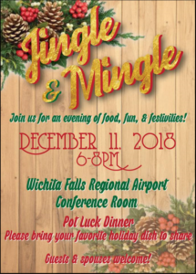 TWBC Jingle Mingle @ Fly Wichita Falls Regional Airport | Wichita Falls | Texas | United States