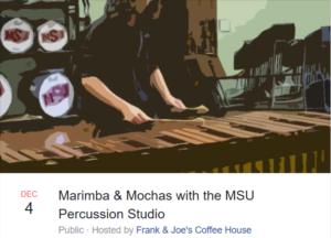 Marimba and Mochas @ Frank & Joe's @ Frank & Joe's Coffee House | Wichita Falls | Texas | United States