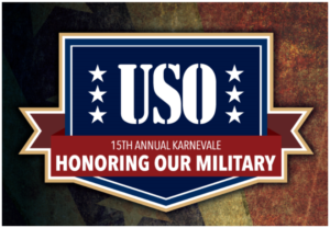 2019 Karnevale | USO: Honoring Our Military – A 1940's Dance Event @ The Forum