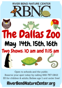 Dallas Zoo at RBNC @ River Bend Nature Center