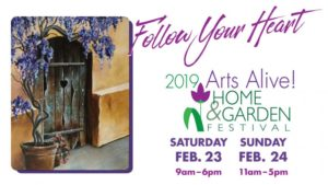 Arts Alive! Home and Garden Festival @ MPEC