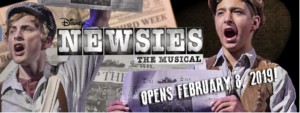 Newsies @ The Wichita Theatre