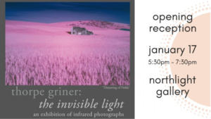 "Thorp Griner: ""The Invisible Light"" @ The Kemp"