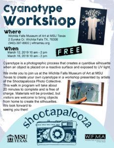 FREE Cyanotype Workshop @ Wichita Falls Museum of Art