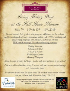 Living History Days at the Kell House Museum @ Kell House Museum