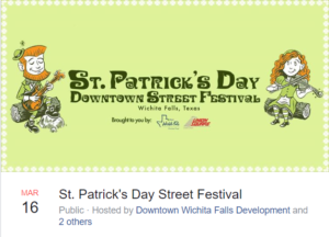 Downtown St Patrick's Day Street Festival @ Downtown Farmer's Market