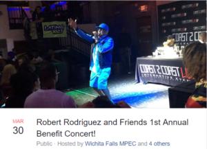 Robert Rodriguez Benefit Concert @ Memorial Auditorium