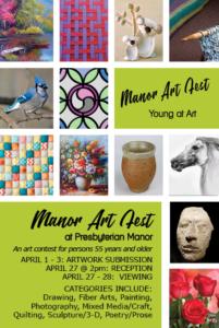 Manor Art Fest @ Presbyterian Manor