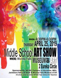 WFISD Middle School Art Show