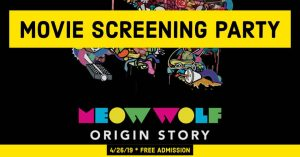 Meow Wolf Movie Screening @ Wichita Falls Public Library (second floor)