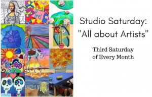Studio Saturday: All About Artists @ The Kemp