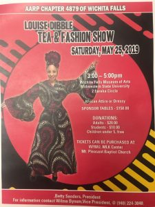 Louise Dibble Tea and Fashion Show @ Wichita Falls Museum of Art