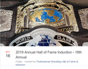 Professional Wrestling Hall of Fame Annual Induction