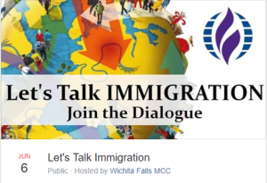 Let's Talk IMMIGRATION (join the dialogue) @ Wichita Falls MCC