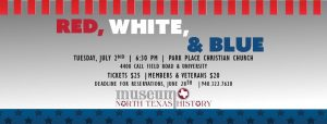 Red White & Blue @ Park Place Christian Church