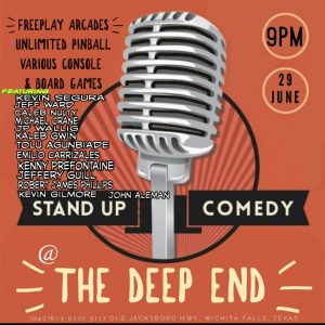 Standup at the Deep End @ the Deep End
