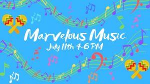Marvelous Music @ Riverbend Nature Center