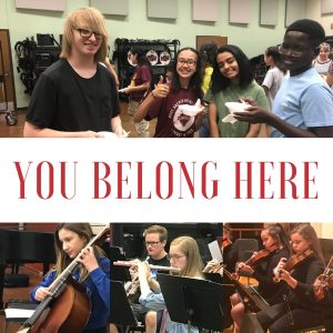 YSO Fall Auditions @ MSU Band Hall