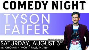 Comedy Night: Tyson Faifer @ Half Pint Taproom and Restorations Hall