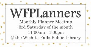 WFPLanner @ Wichita Falls Public Library