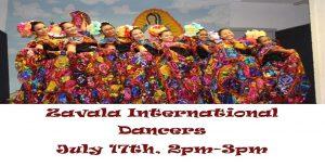 Zavala International Dancers at the Library @ Wichita Falls Public Library
