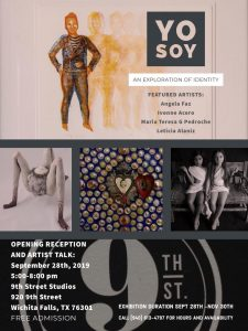 """Yo Soy- An Exploration of Identity"" @ 9th Street Studios"