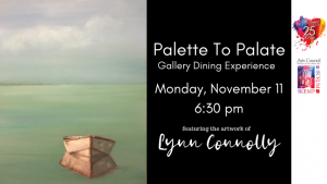 Palette To Palate: Lynn Connolly @ The Forum