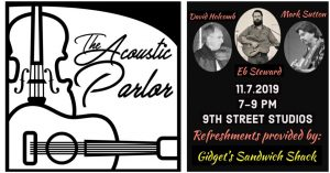 The Acoustic Parlor featuring Eb Steward @ 9th Street Studios