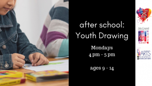 After School Classes: Youth Drawing (ages 9-14) @ the Kemp Center for the Arts