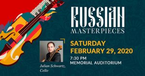 WFSO: Russian Masterpieces @ Memorial Auditorium