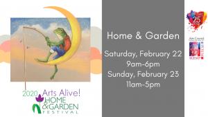 Arts Alive! Home & Garden Fest @ MPEC