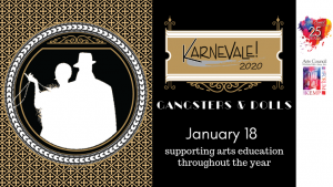 Karnevale – Gangsters & Dolls: A Speakeasy Event @ The Kemp Center for the Arts