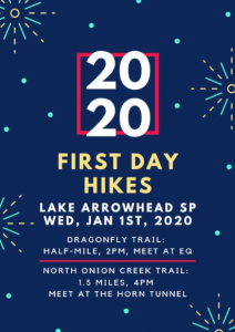 First Day Hikes: Lake Arrowhead State Park @ Lake Arrowhead - Horn Tunnel
