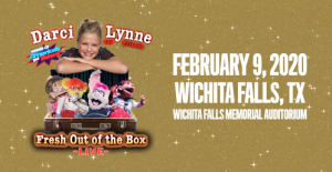 Darci Lynne and Friends: Fresh out of the Box @ Memorial Auditorium