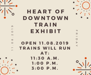 Heart of Downtown (Train Exhibit) @ Museum of North Texas History