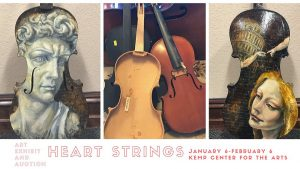 Heart Strings Art Exhibit and Silent Auction @ The Kemp
