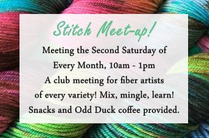 Stitch Meet-Up at the Library @ Wichita Falls Public Library