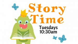 Storytime at the Library @ Wichita Falls Public Library