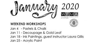 Weekend Workshops at WFMA @ Wichita Falls Museum of Art at MSU