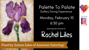 Palette To  Palate at The Forum : Rachel and Juston Liles @ Galleria at the Forum